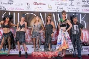 Trash Fashions at Fashion Week Palm Beach